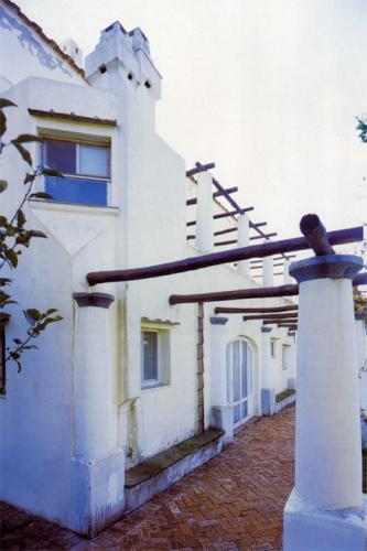 Villa Orlandi: the lower pergola