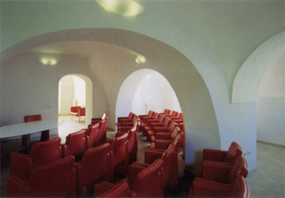 Villa Orlandi: the seminar room